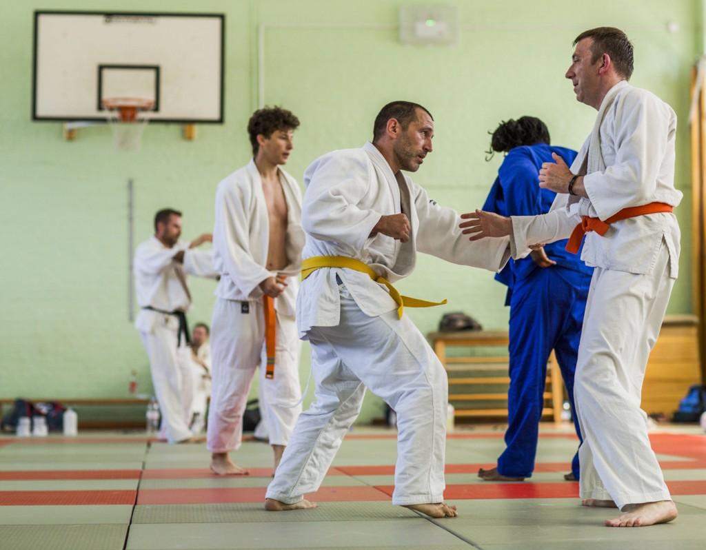 Alexandra Park Judo Club senior practice
