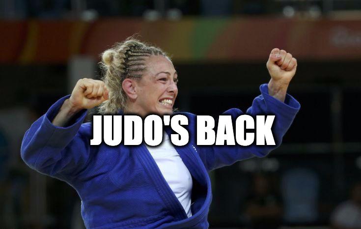 Judo's Back