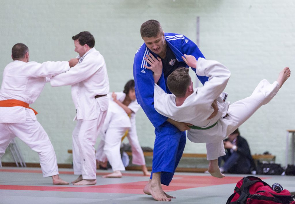 Olympic Masterclass at Alexandra Park Judo Club