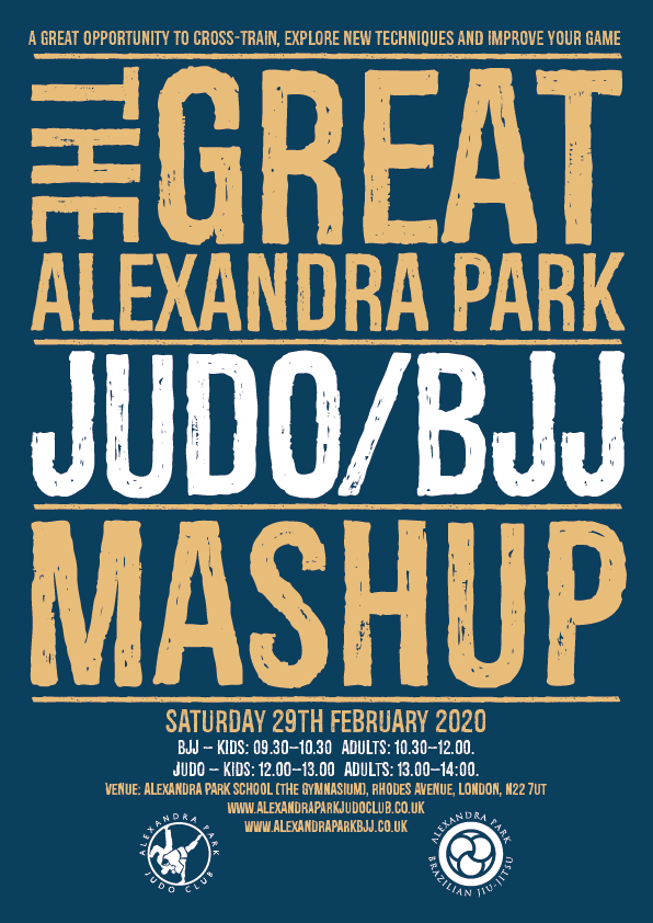 The Great Alexandra Park Judo/BJJ Mash Up